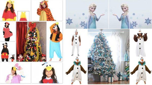 Family Matching Disney Holiday Pajamas