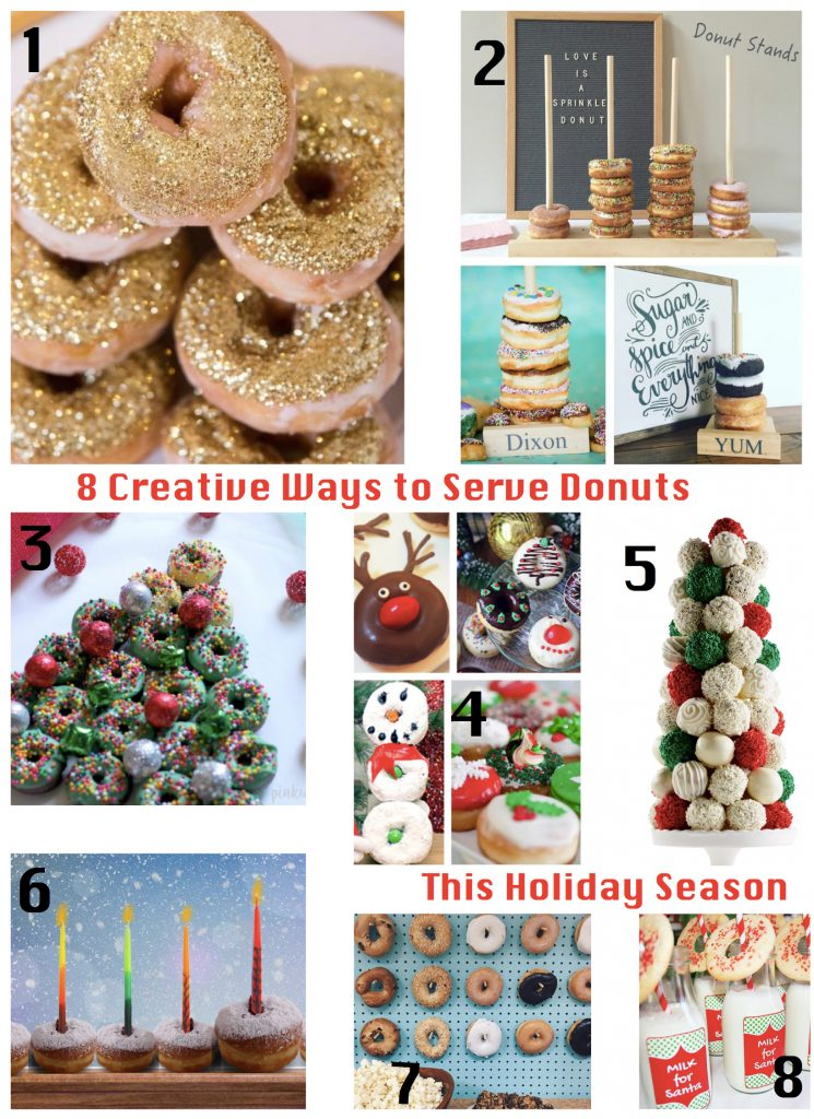 8 Creative Ways to Serve Donuts