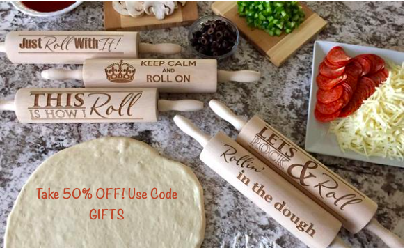 50% OFF Rolling Pins!