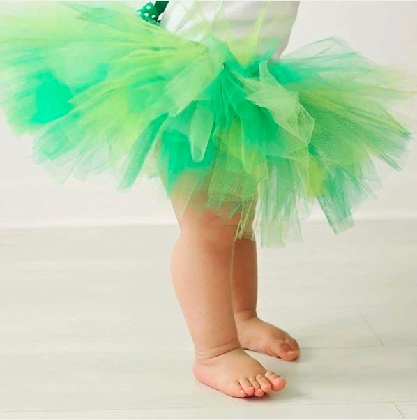 St Patrick's Day Tutus By Jess