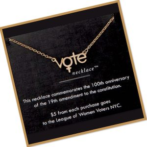 Get out the Vote Necklace and Jewelry