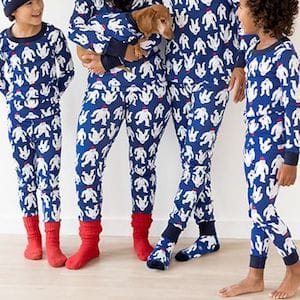 Yeti Family Matching Holiday Pajamas
