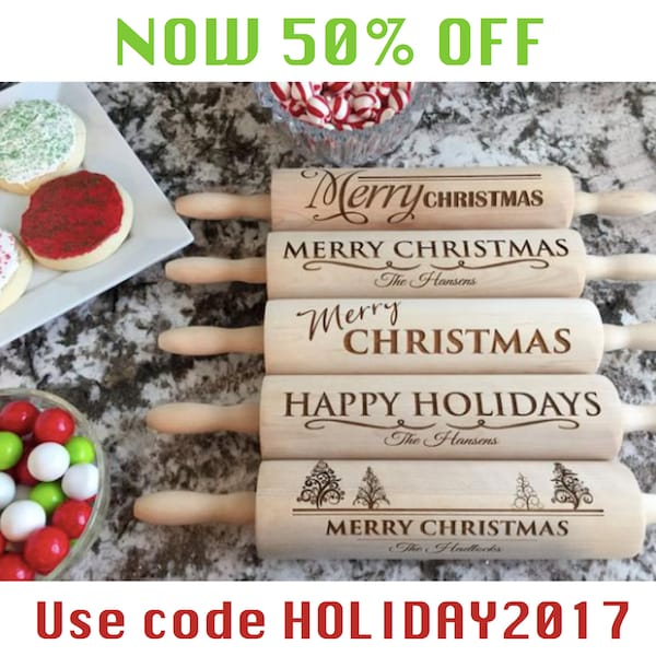Qualtry Rolling Pins 50% OFF with code HOLIDAY2017