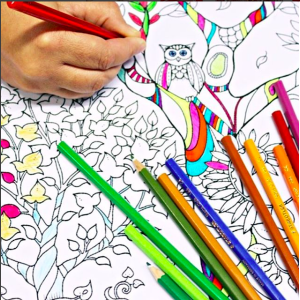 Adult Coloring Party Planning Ideas and Supplies