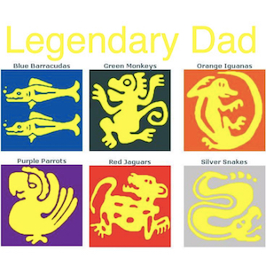 Legendary Dad - Father's Day Fun