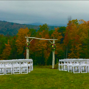 New Hampshire Fall Barn Wedding