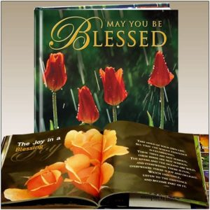 May You Be Blessed Inspirational Gift Book