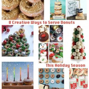 8 Creative Ways to Serve Donuts This Holiday Season
